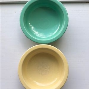 Fiestaware serving bowls